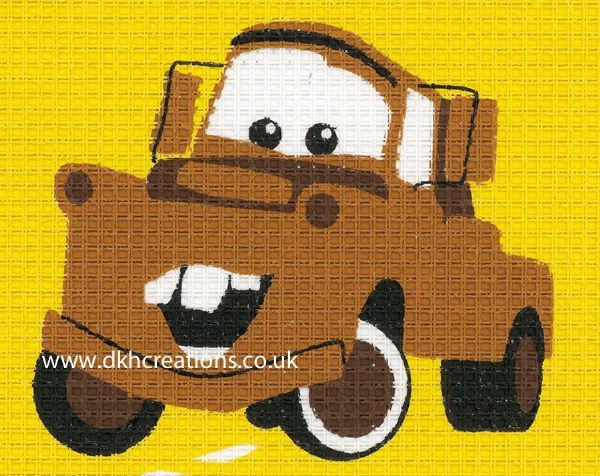Disney Cars Mater Tapestry Kit
